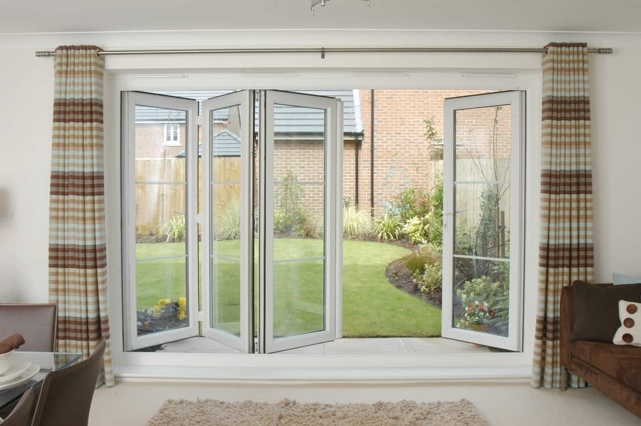 Shaws glass bifolding doors bifold doors for Folding doors